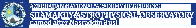 Astrophysical observations-ShamakhyAstrophysical Observatory named after Nasiraddin Tusi