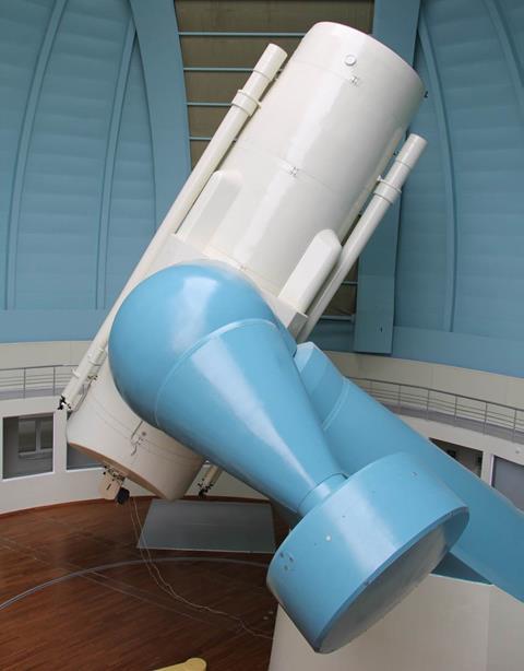 2 metrlik teleskop