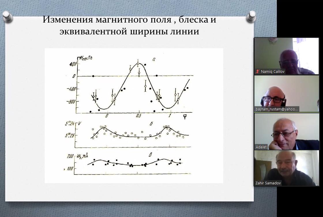 Şamaxı Astrofizika Rəsədxanasında onlayn astroseminar keçirilib