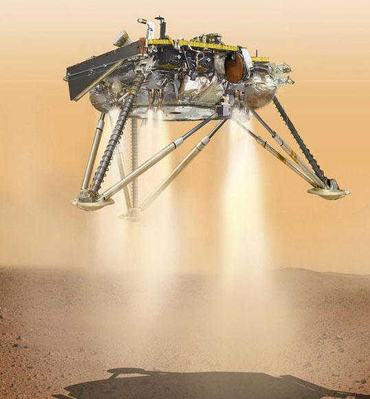 NASA-nın kosmik zondu Marsın səthinə enib
