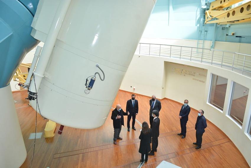 Yaponiyanın səfiri Şamaxı Astrofizika Rəsədxanasını ziyarət edib