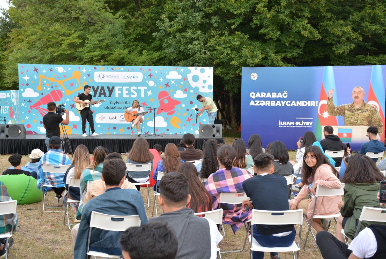 """Şamaxı Astrofizika Rəsədxanasında """"Yay Fest""""in açılış mərasimi keçirilib"""