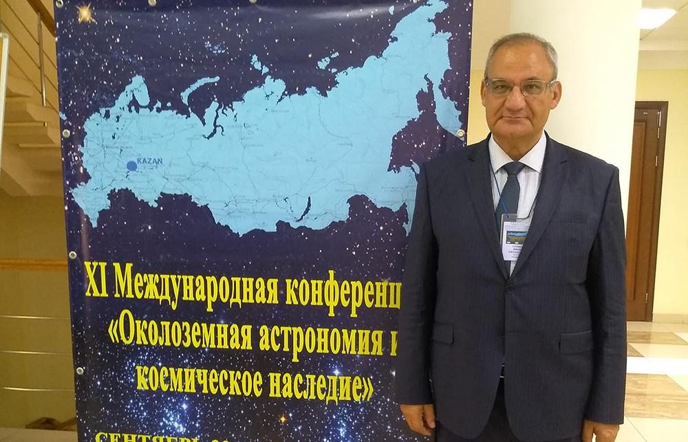 Şamaxı Astrofizika Rəsədxanasının əməkdaşı Rusiyada elmi ezamiyyətdə olub