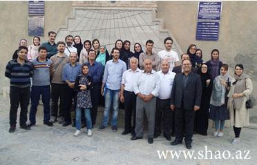 Şamaxı Astrofizika Rəsədxanasının əməkdaşları İran İslam Respublikasında təşkil edilən yay məktəbində iştirak ediblər