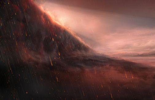 Atmosferində dəmir yağışları olan planet kəşf olunub