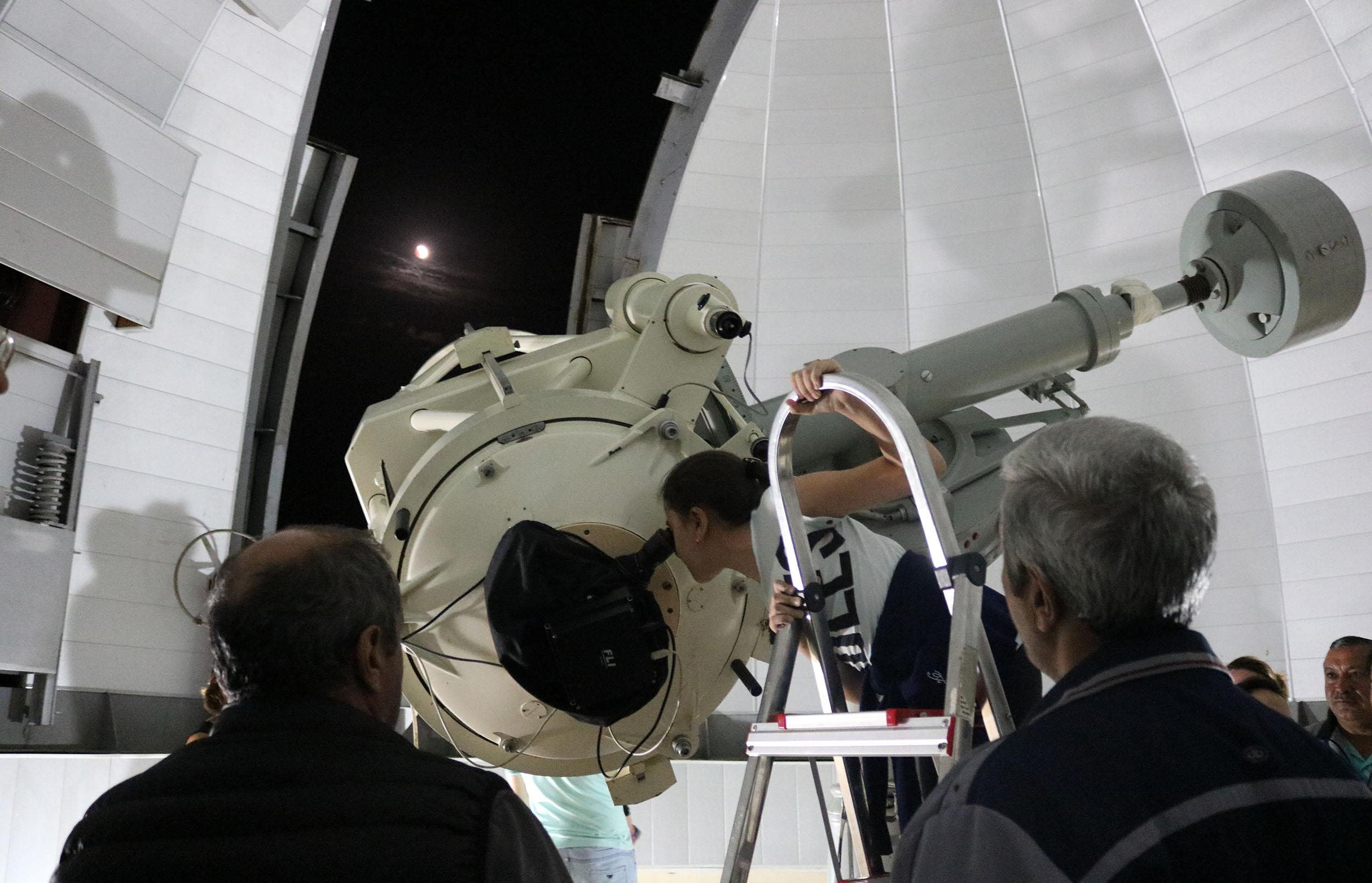 """Şamaxı Astrofizika Rəsədxanası """"Açıq qapı"""" günü keçirib"""