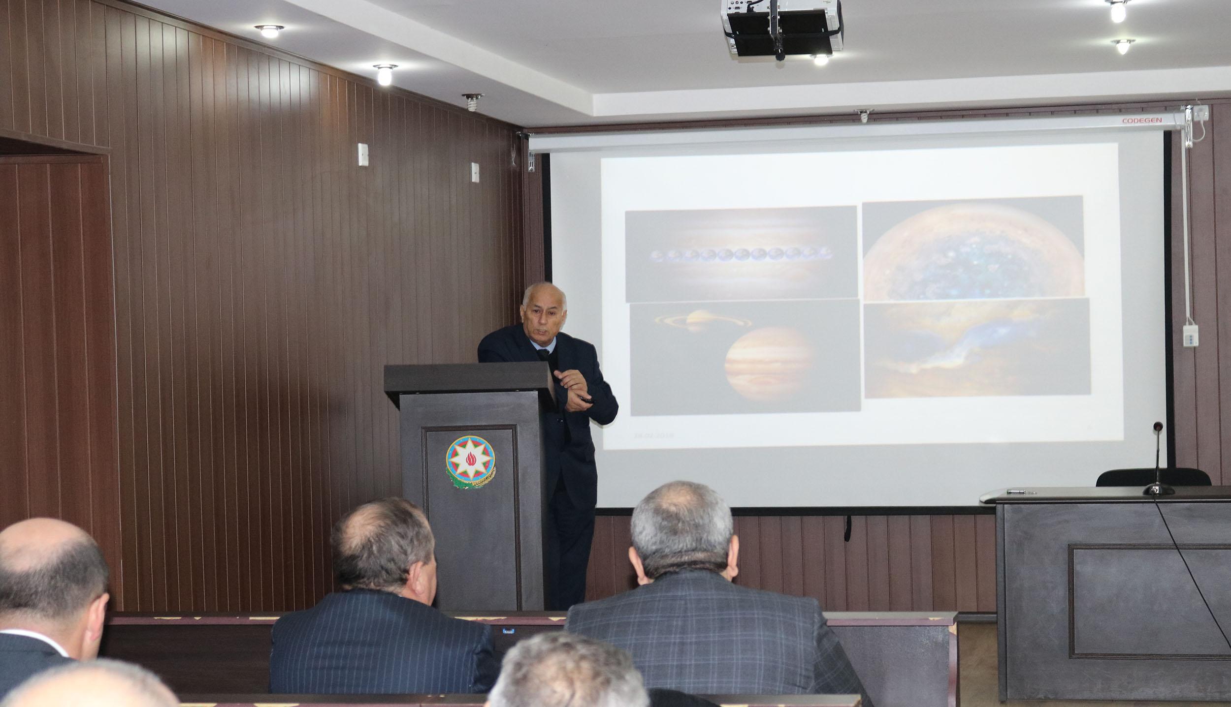 Şamaxı Astrofizika Rəsədxanasında növbəti astroseminar keçirilib