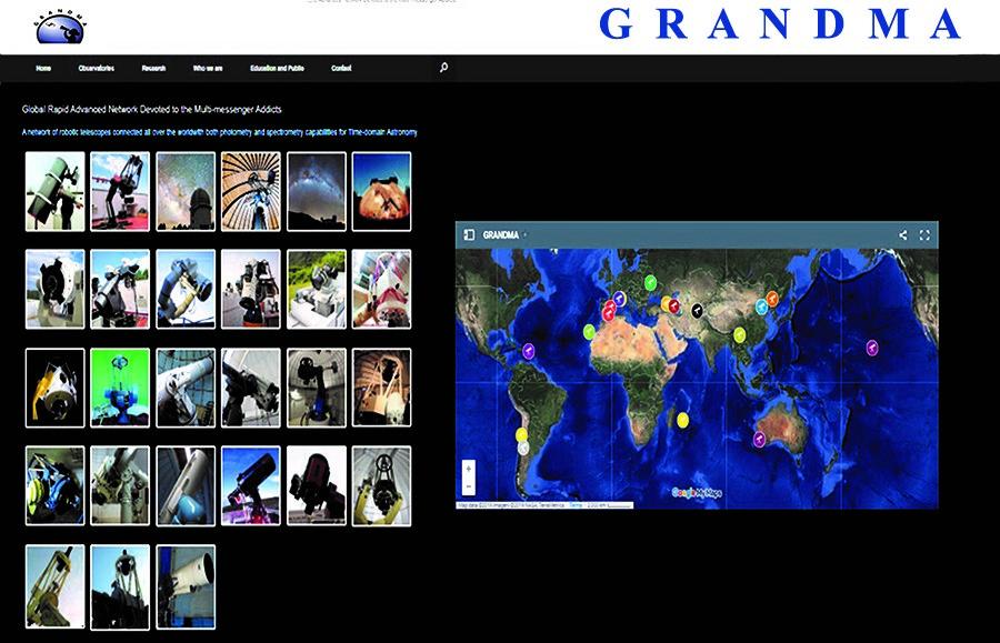 Şamaxı Astrofizika Rəsədxanasının GRANDMA birliyi ilə uğurlu Beynəlxalq əməkdaşlığı