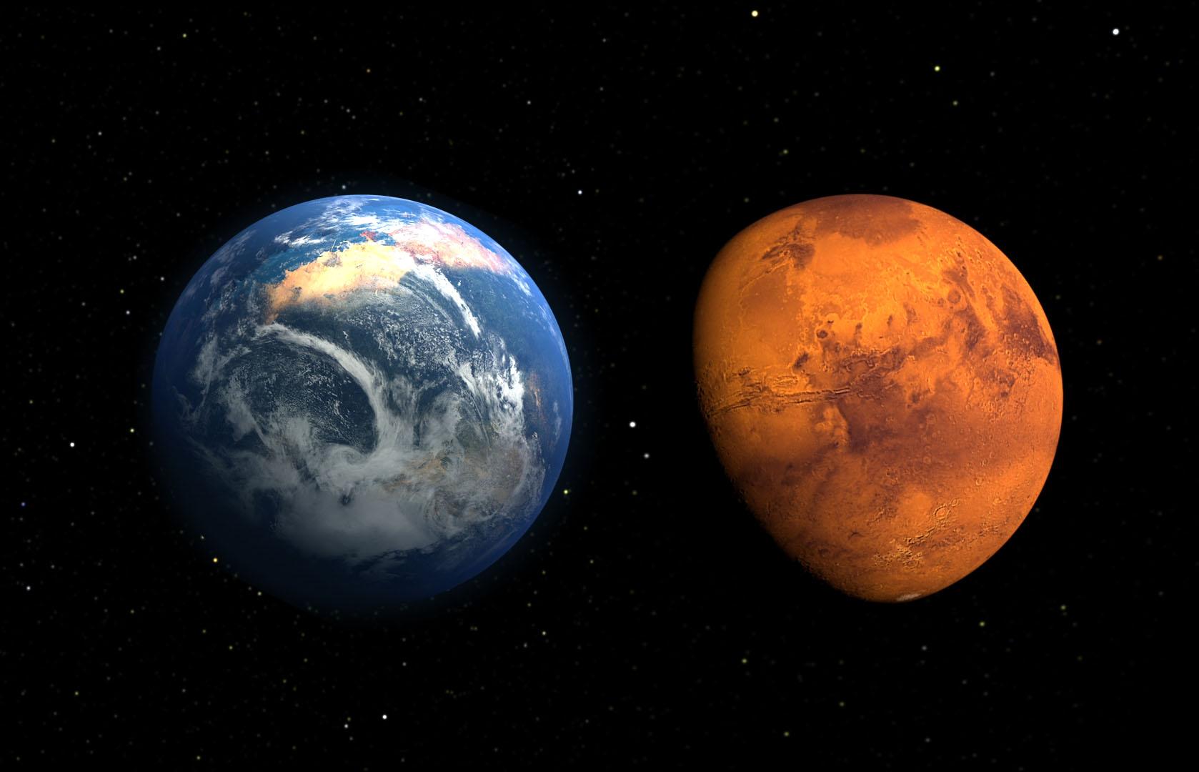 2018-ci ilin Mars - Yer qarşıdurması