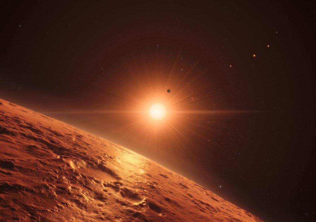 Tədqiqatçılar TRAPPİST-1 sisteminin planetləri haqqında yeni məlumatlar əldə ediblər