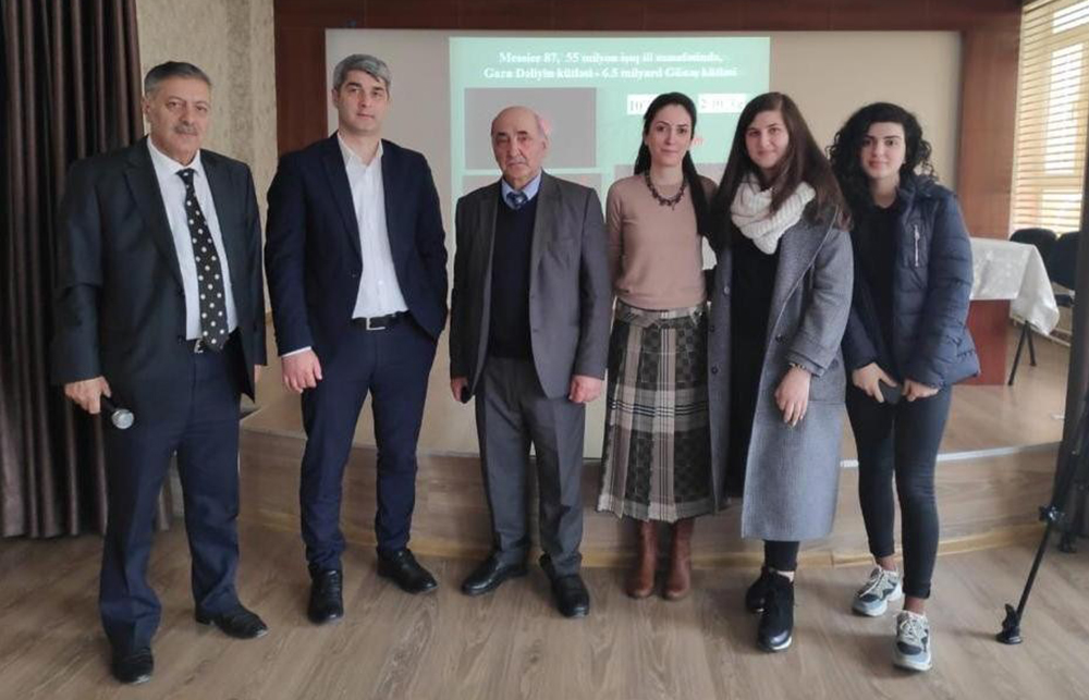 Şamaxı Astrofizika Rəsədxanasının əməkdaşı Türk Anadolu liseyində astroseminar keçirib