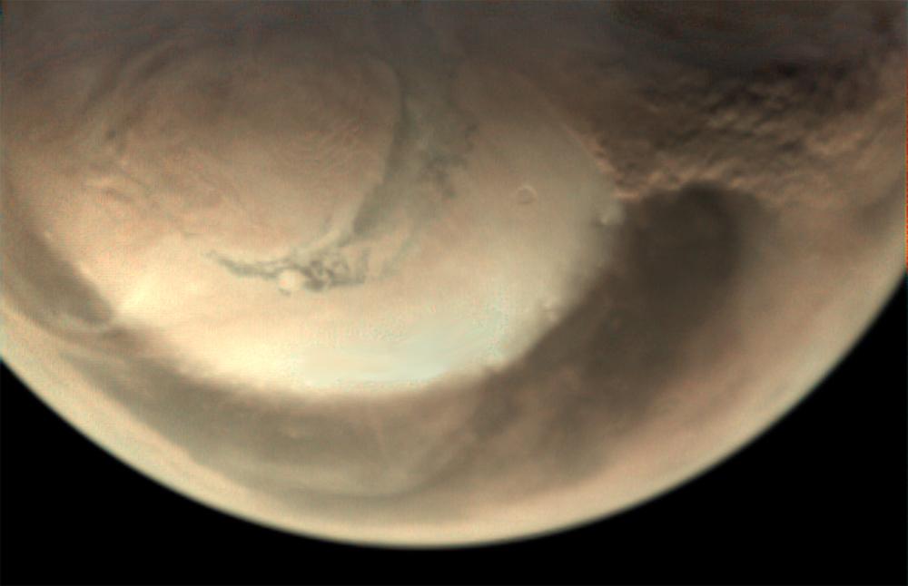 """""""Mars-Ekspress"""" Marsda toz fırtınalarını izləyib"""