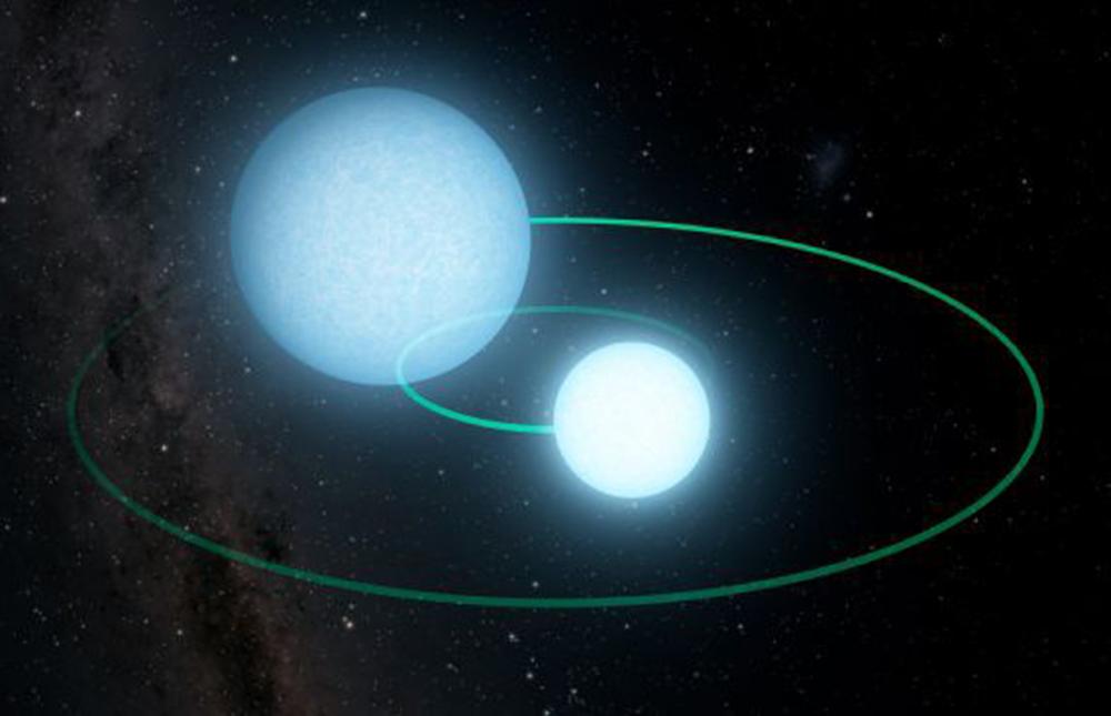 Astronomlar ekstremal sıx əlaqəli ağ cırtdan cütlüyü tapıblar
