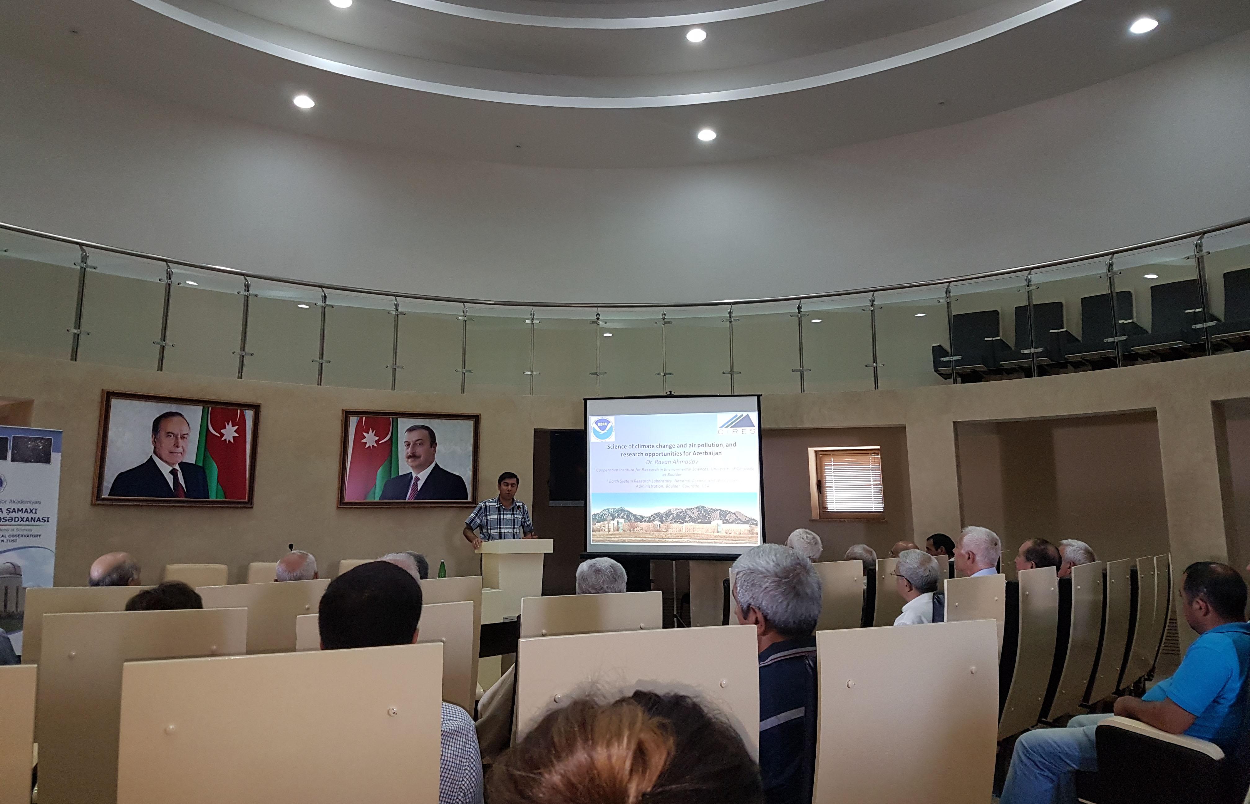 Şamaxı Astrofizika Rəsədxanasında beynəlxalq elmi seminar keçirilib