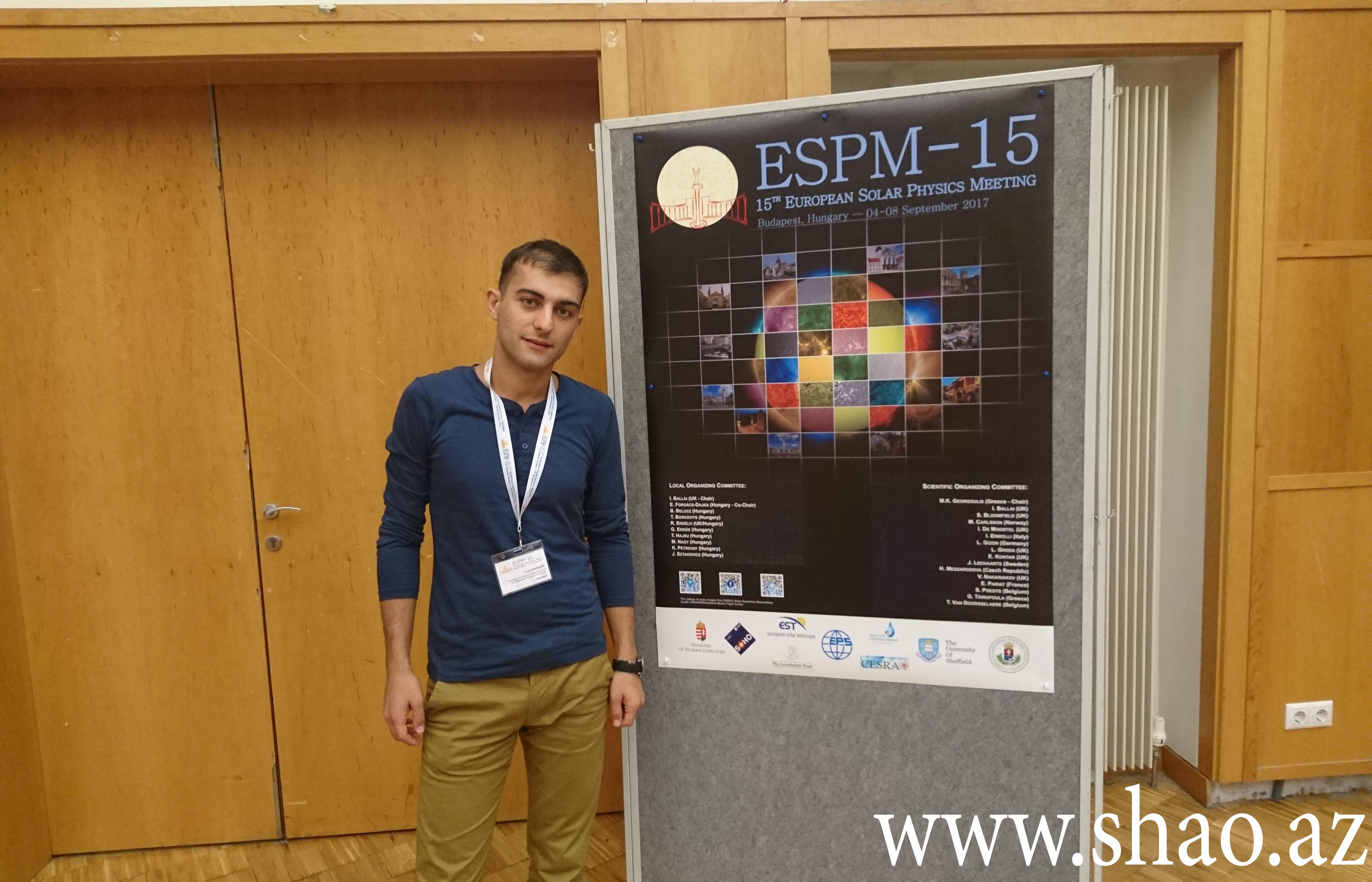 Şamaxı Astrofizika Rəsədxanasının əməkdaşı beynəlxalq konfransda iştirak edib
