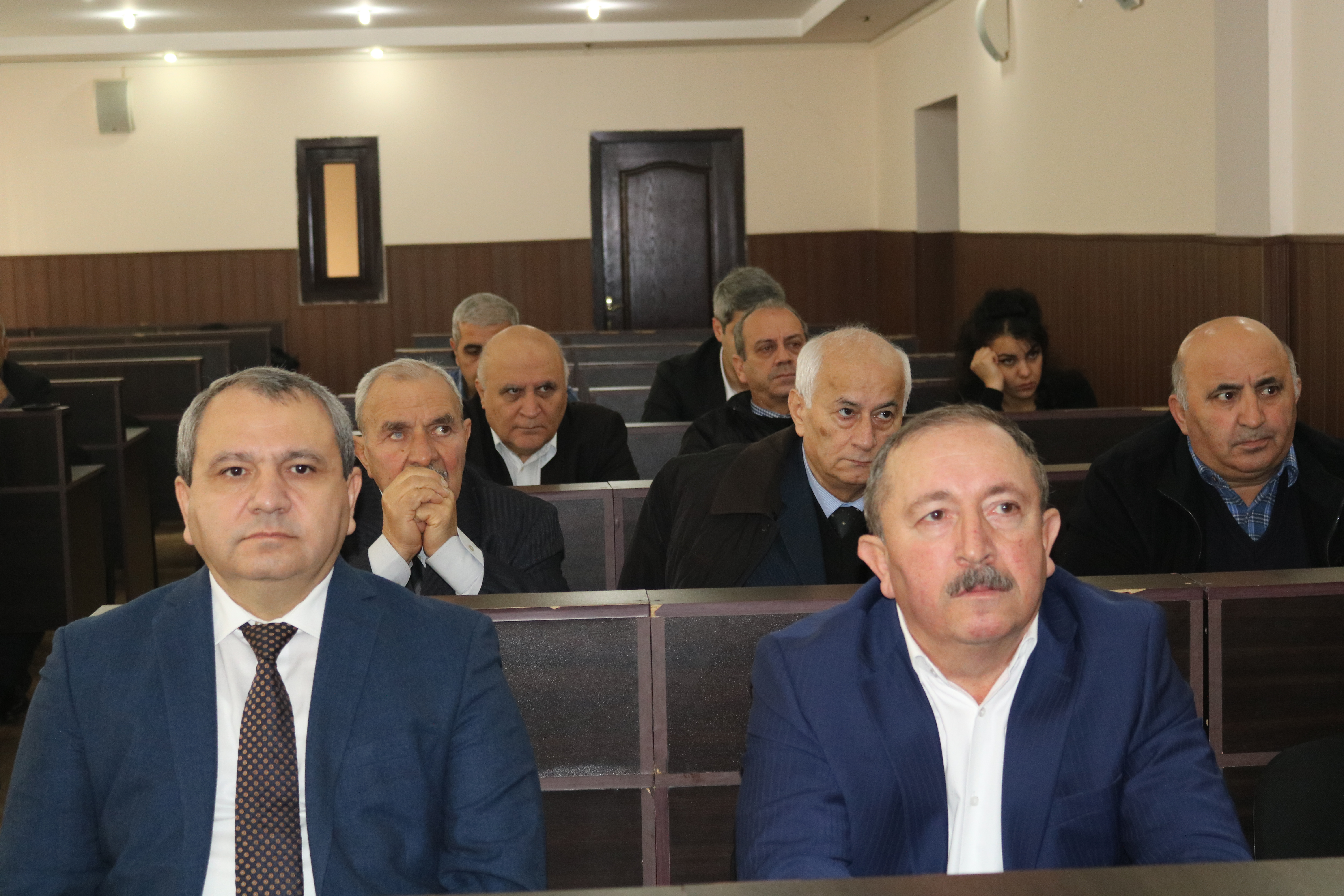 The annual report on the activities of the Shamakhy Astrophysical Observatory was listened