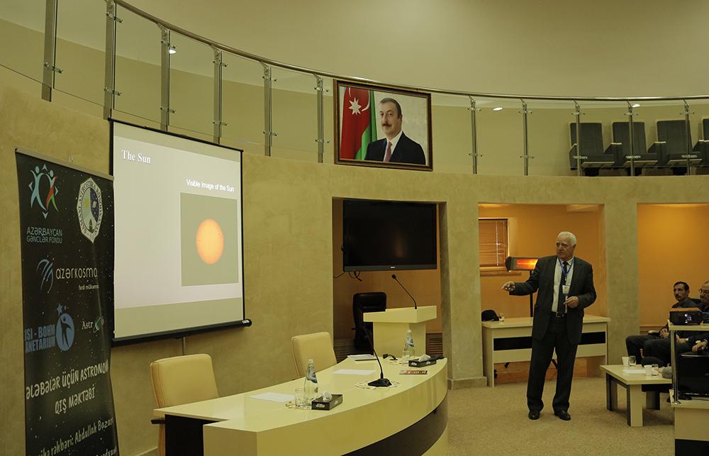 """ŞAR-da """"Tələbələr üçün Astronomiya Qış məktəbi"""" adlı tədbir keçirilib"""