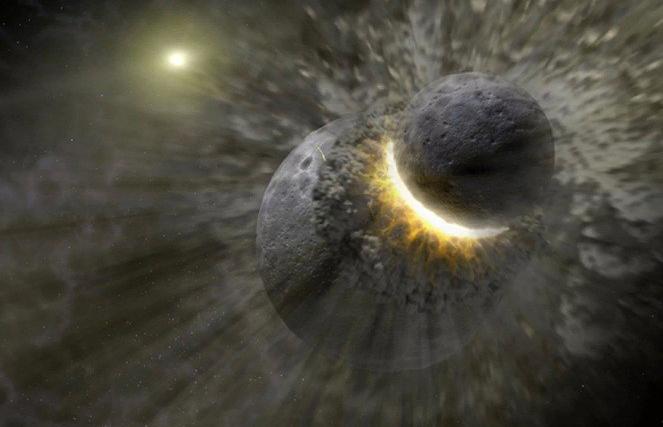 Nəhəng Yer tipli planetlərlə toqquşmalar ekzoplanetlərin atmosfer müxtəlifliyini izah edə bilər