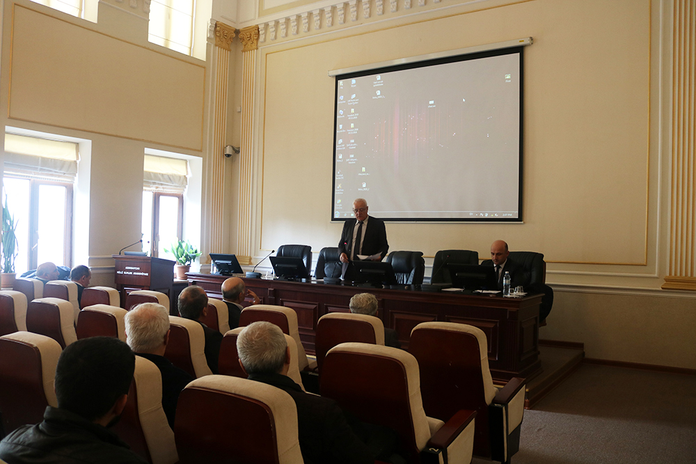 The next session of the Scientific Council was held