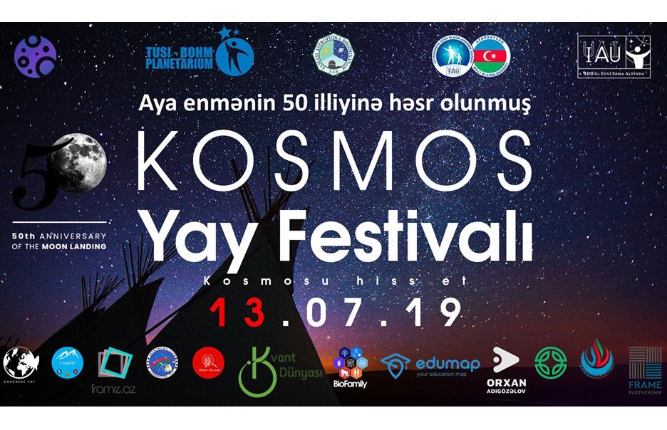 """Rəsədxanada """"Kosmos Yay festifalı"""" keçirilib"""