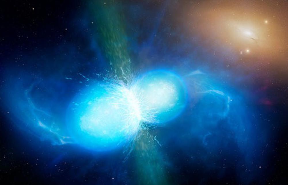 Neytron ulduzların qovuşmasından yaranan elementlər