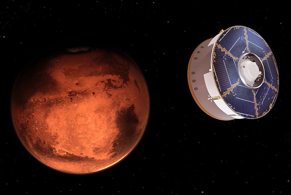 NASA-nın kosmik aparatı Marsa eniş edib