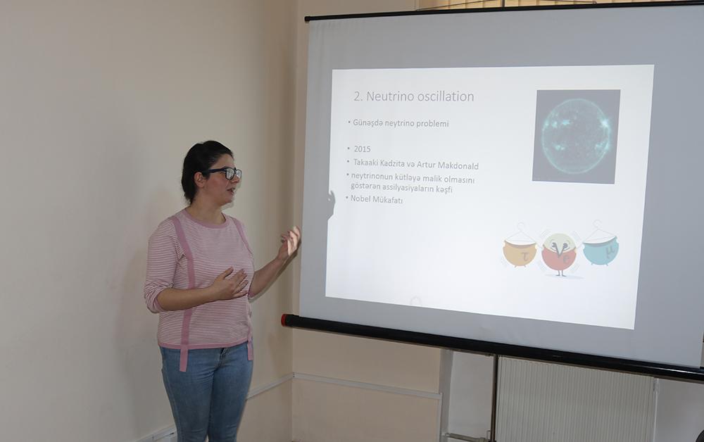 Şamaxı Astrofizika Rəsədxanası Gənc Alim və Mütəxəssislər Şurasının ilk astroseminarı keçirilib