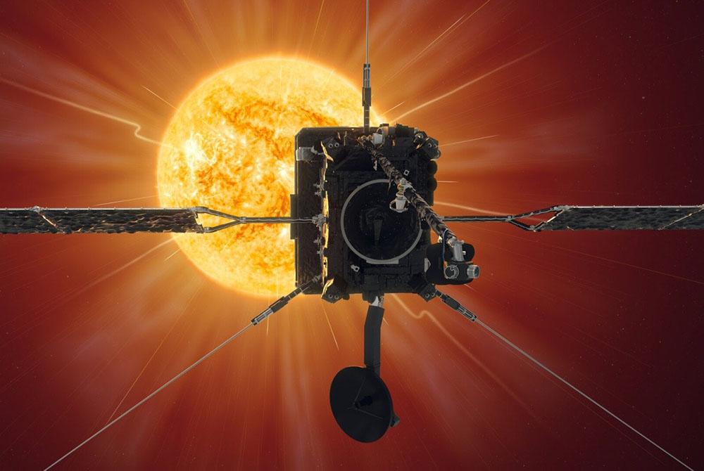 """""""Solar Orbiter"""" peyki Günəşə ilk yaxınlaşmasındadır"""